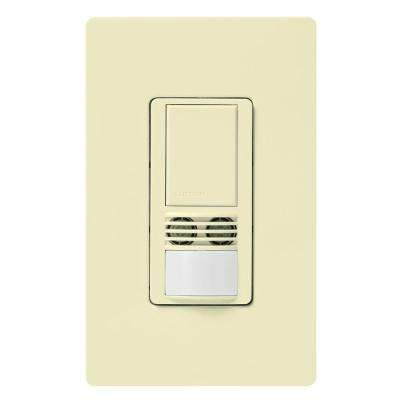 Maestro Dual-Tech Motion Sensor switch, 6-Amp, Single-Pole, Almond