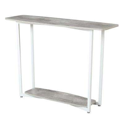 Graystone Gray and White Console Table