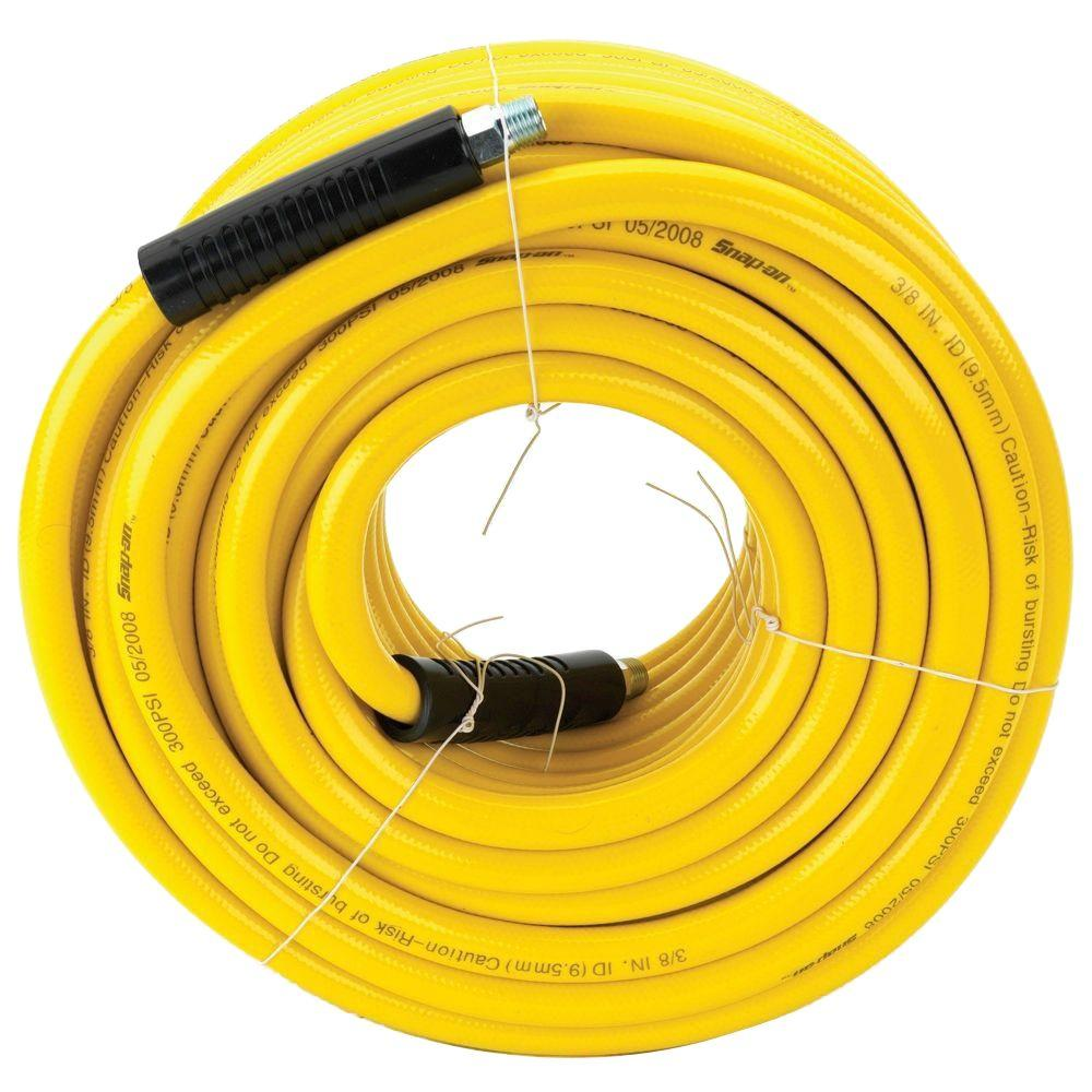Snap-on 3/8 in. x 100 ft. PVC Air Hose