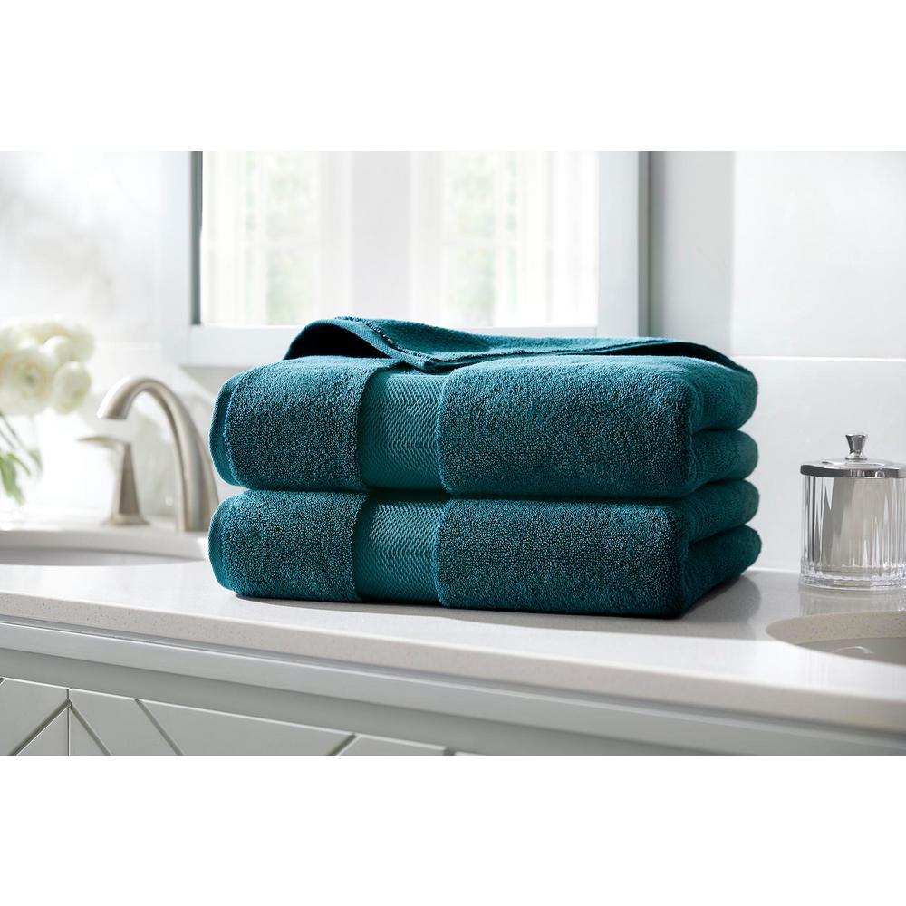 HomeDecoratorsCollection Home Decorators Collection Plush Soft Cotton Bath Towel in Charleston (Set of 2)