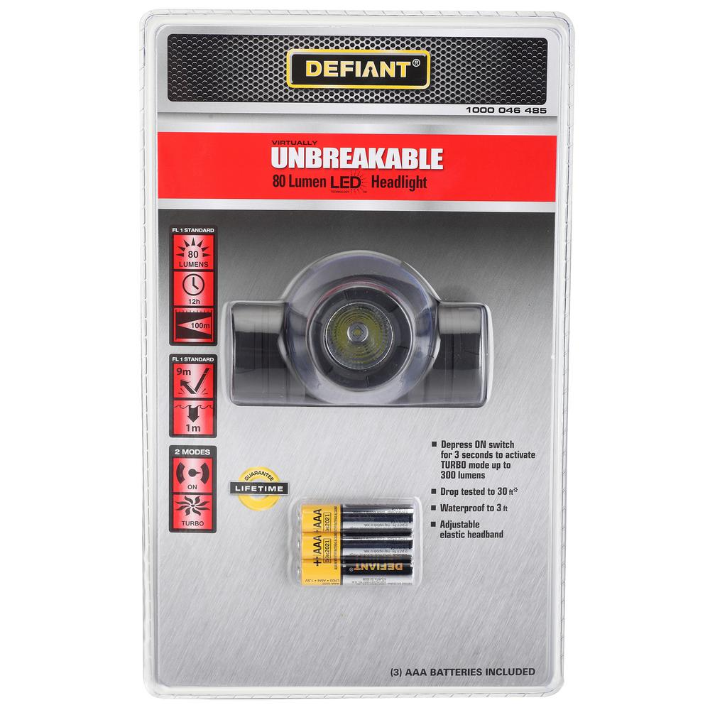3AAA LED Unbreakable Headlight