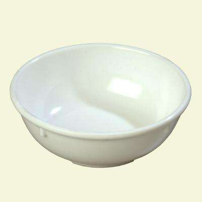13 oz., 5.32 in. Diameter Melamine Nappie Bowl in White (Case of 24)