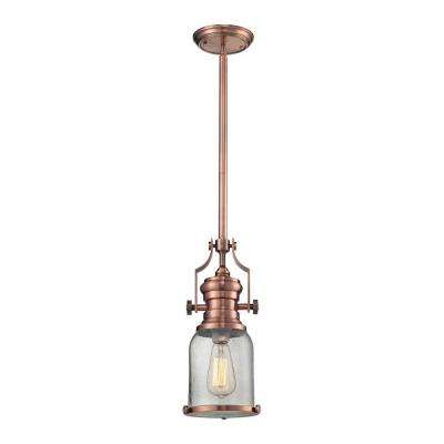 Chadwick 1-Light Copper Pendant