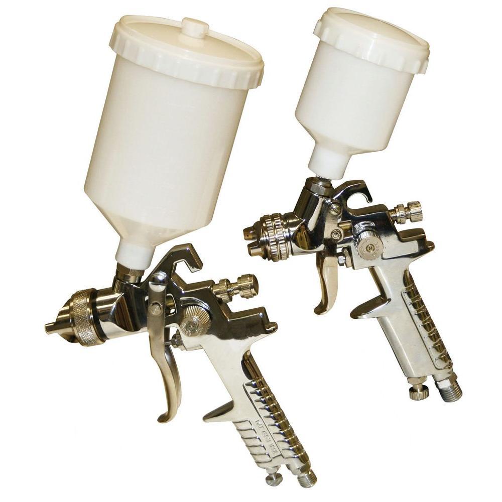 Buffalo Tools 2-Piece Gravity Feed HVLP Paint Sprayer Kit