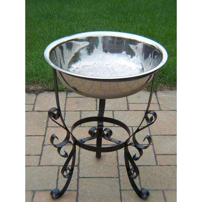 20 qt. Stainless Steel Ice Bucket and Stand