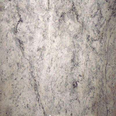 3 in. Granite Countertop Sample in Siberian White