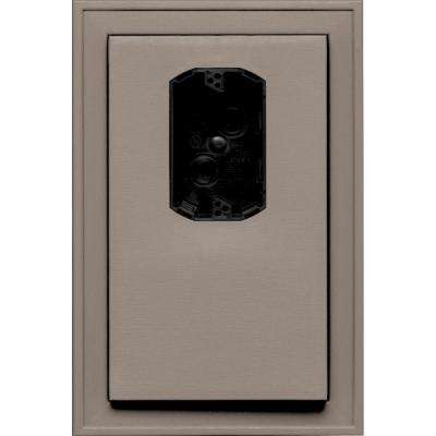 8.125 in. x 12 in. #008 Clay Jumbo Electrical Mounting Block Offset