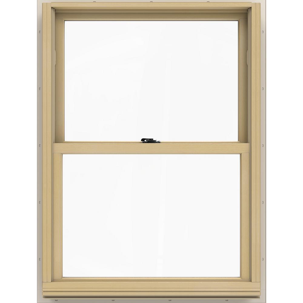JELD-WEN 29.375 in. x 40.5 in. W-2500 Double Hung Wood Window