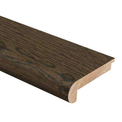 Hickory Coffee 3/8 in. Thick x 2-3/4 in. Wide x 94 in. Length Hardwood Stair Nose Molding