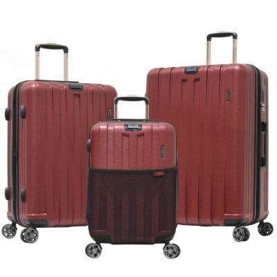 Sidewinder 3-Piece ABS Expandable Hardcase Spinner Set with TSA Lock