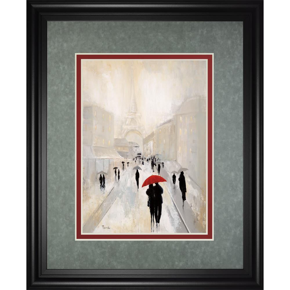 34 in. x 40 in. ''MISTY IN PARIS'' BY TAVA STUDIOS
