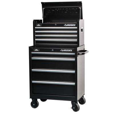 27 in. 8-Drawer Tool Chest and Cabinet Set