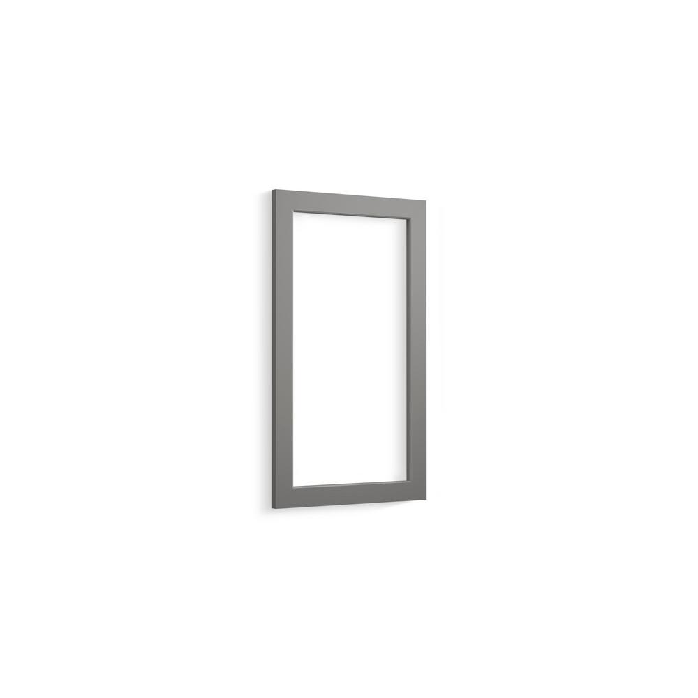 Shaker CL Series 15 in. Cabinet Frame in Mohair Grey