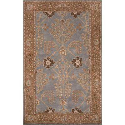 Hand-Tufted Abyss 5 ft. x 8 ft. Oriental Area Rug