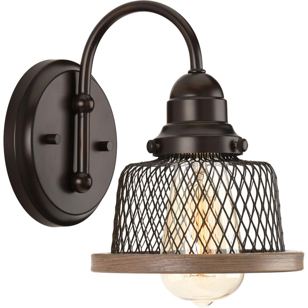 Unique Bathroom Lighting Sale: Progress Lighting Tilley Collection 1-Light Antique Bronze