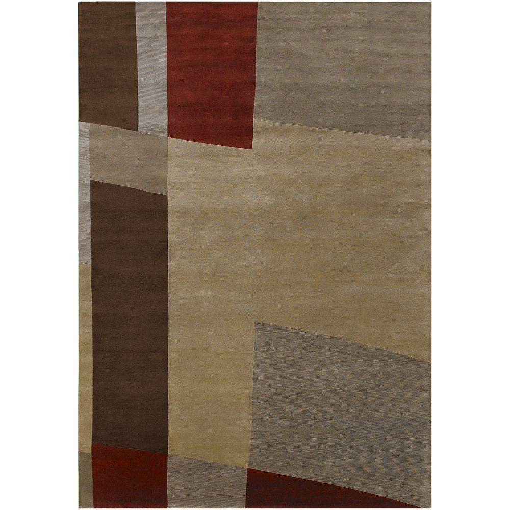 Artistic Weavers Manteca Olive Green 8 ft. x 11 ft. Area Rug