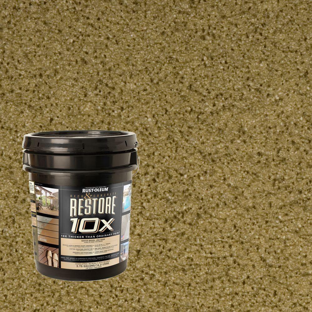 Rust-Oleum Restore 4-gal. Sage Deck and Concrete 10X Resurfacer
