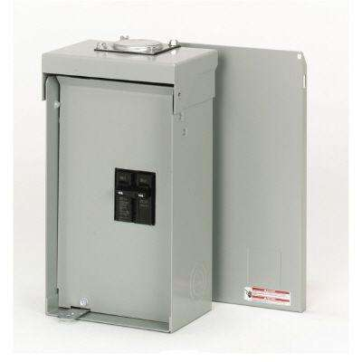 Type BR Outdoor 100 Amp 2 Pole Enclosed Breaker