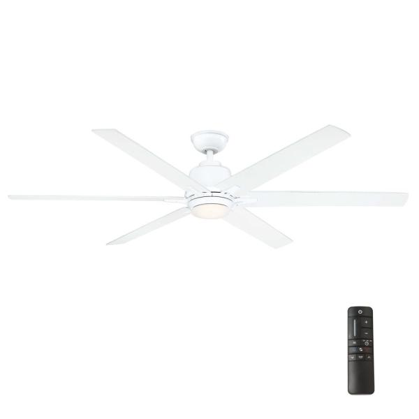 Led White Ceiling Fan