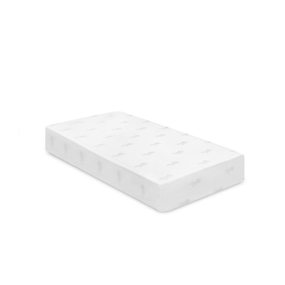 Llytech Inc Angeland 12 In Twin Xl Gel Memory Foam Mattress Fur26257txl The Home Depot