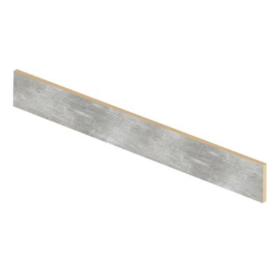 Scratch Stone 47 in. Length x 1/2 in. Deep x 7-3/8 in. Height Vinyl Overlay Riser to be Used with Cap A Tread