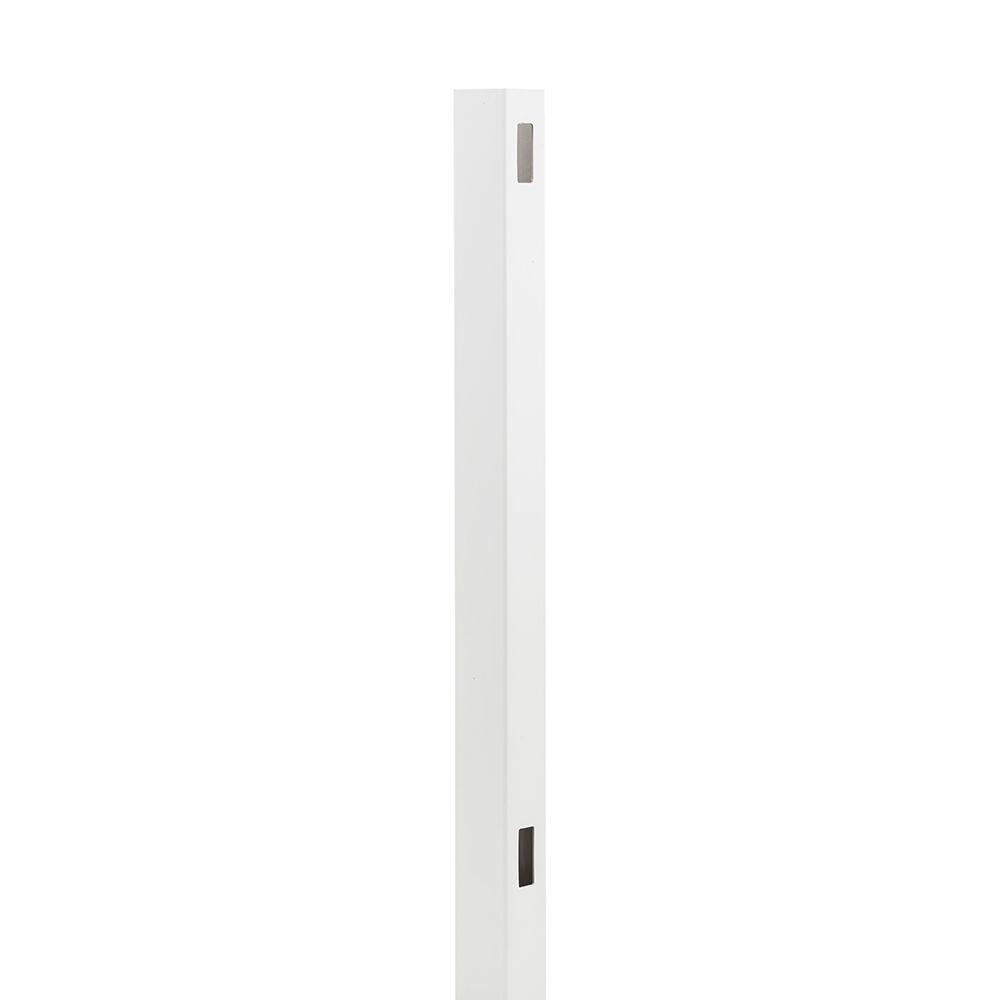 Dover 5 in. x 5 in. x 8 ft. White Vinyl