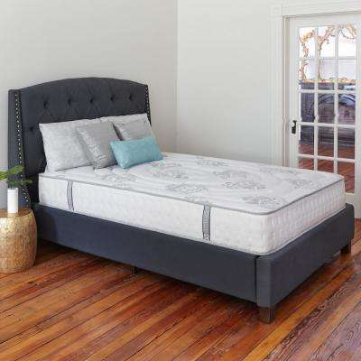 Decker Full-Size 10.5 in. Memory Foam and Innerspring Mattress