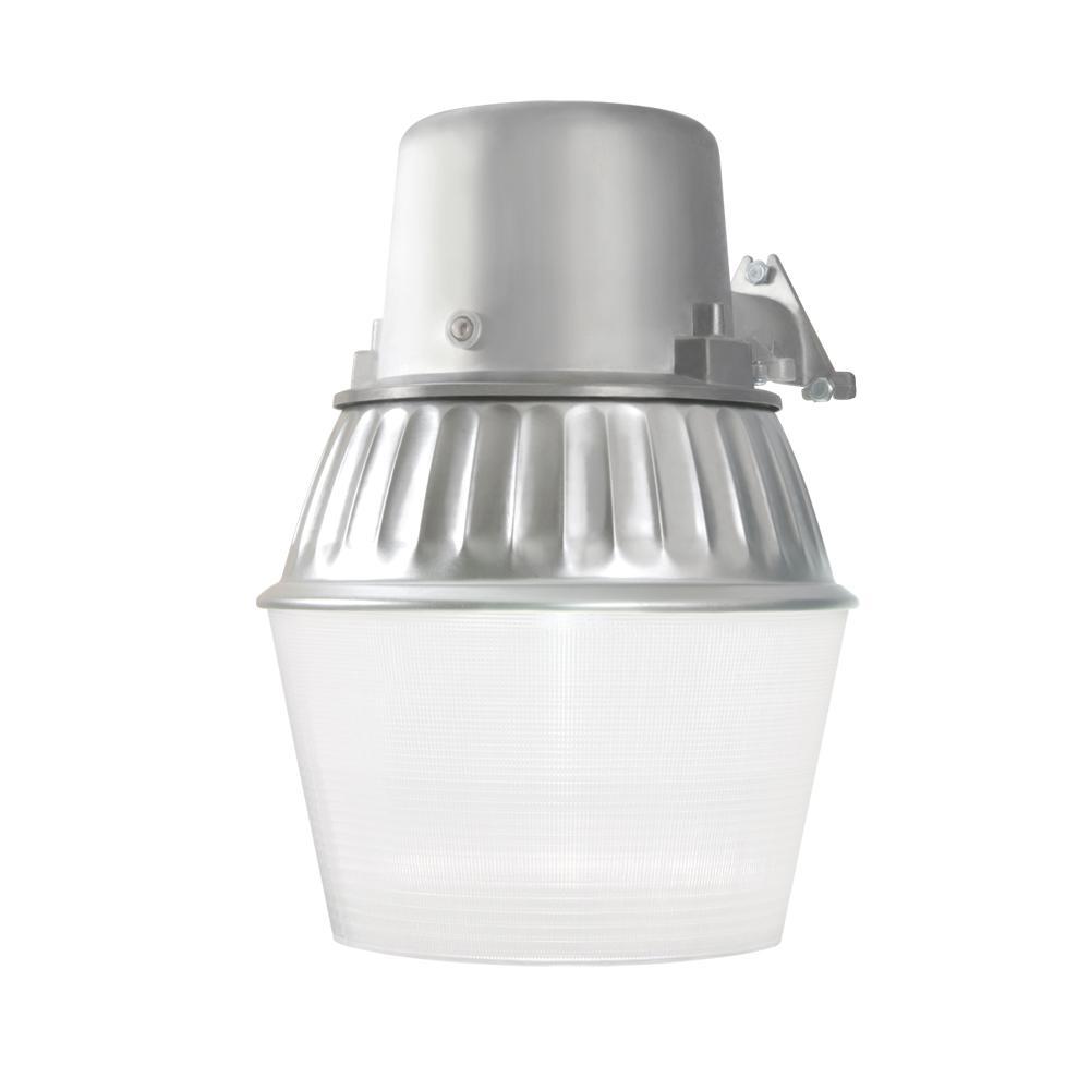 Fluorescent Outdoor Lighting: Halo 65-Watt Metallic Outdoor Fluorescent Security Wall
