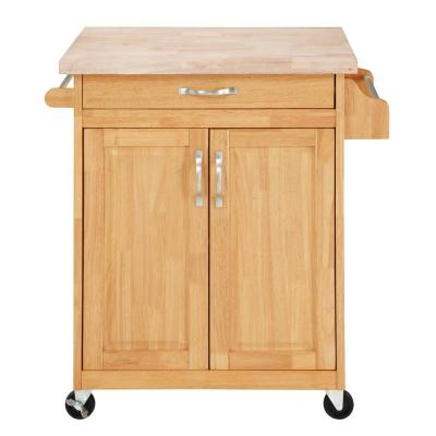 Rima Natural Kitchen Island