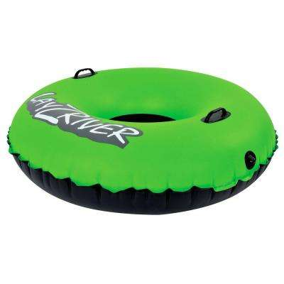 LayZRiver 47 in. Inflatable Swim River Float Tube
