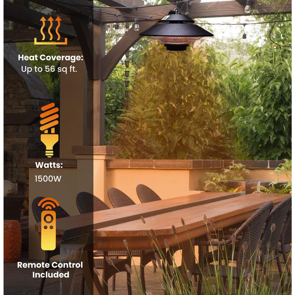 Hanover 1500 Watt Halogen Electric, Outdoor Halogen Heat Lamp