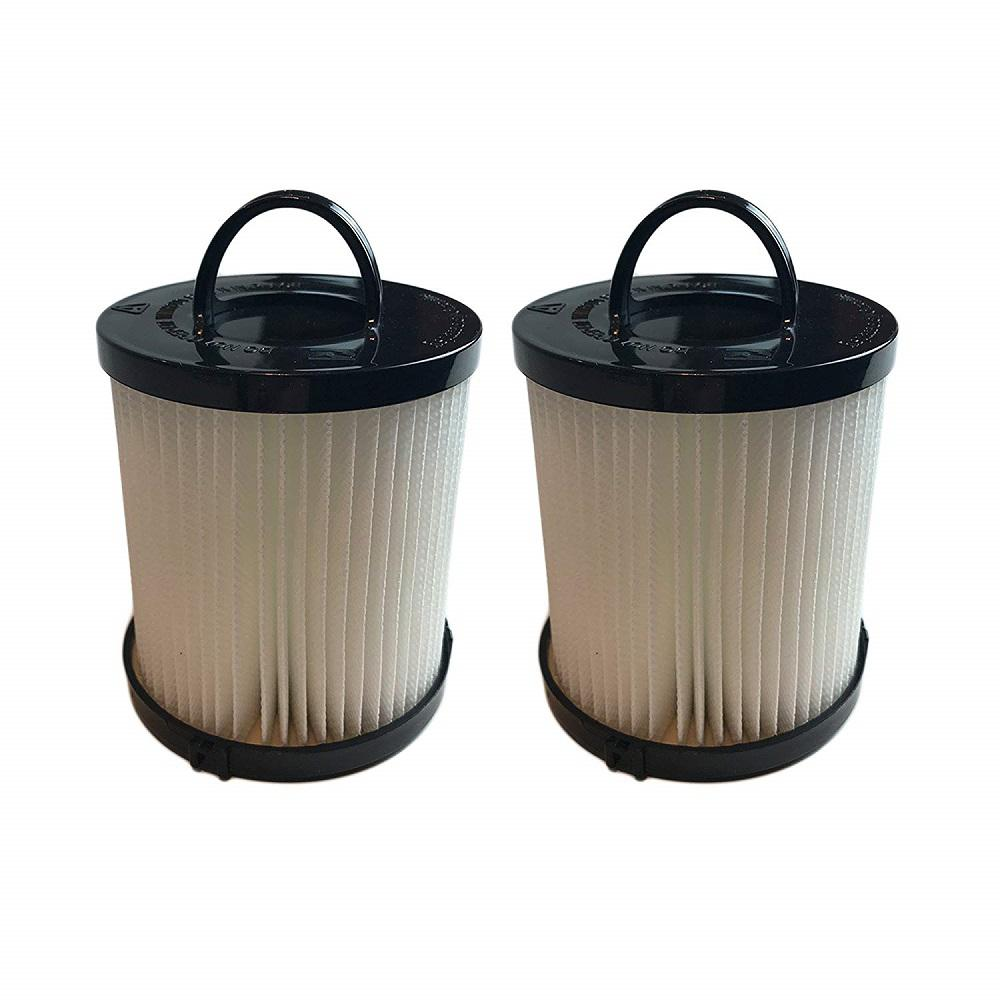 Eureka Filters Washable and Reusable Replacement for Eureka DCF21 Part 67821, 68931 and EF91 (2-Pack)