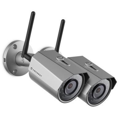 ProHD Outdoor Bullet 3MP 2304px1296p WiFi Wireless IP Surveillance Camera With