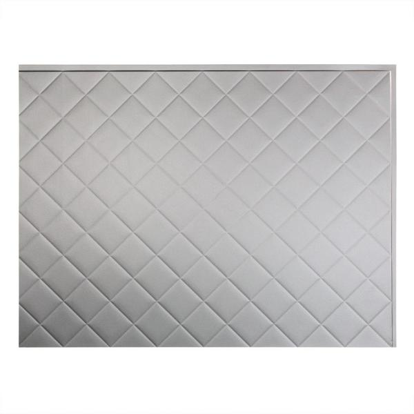 Fasade 24 in. x 18 in. Quilted PVC Decorative Backsplash Panel