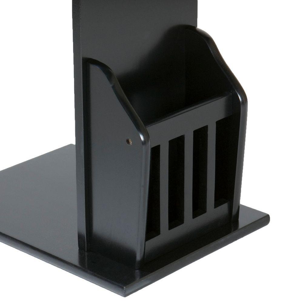 Southern Enterprises Black Storage End Table by Southern Enterprises