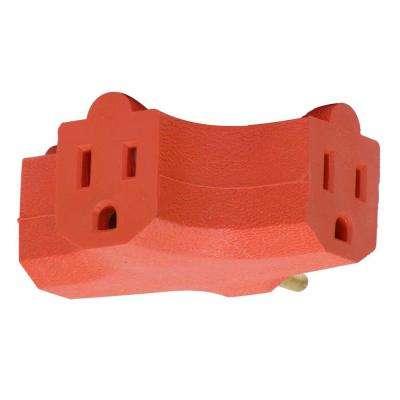 3-Outlet Heavy Duty Triangle Wall Tap
