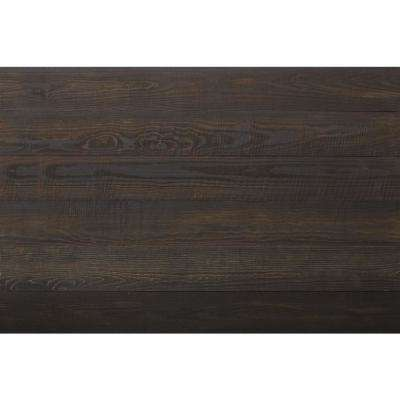 Thermo-treated 1/4 in. x 5 in. x 4 ft. Black Barn Wood Wall Planks (10 sq. ft. per 6-Pack)