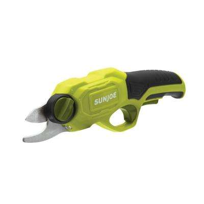 3.6-Volt 2.0 Amp Electric Cordless Pruner in Green