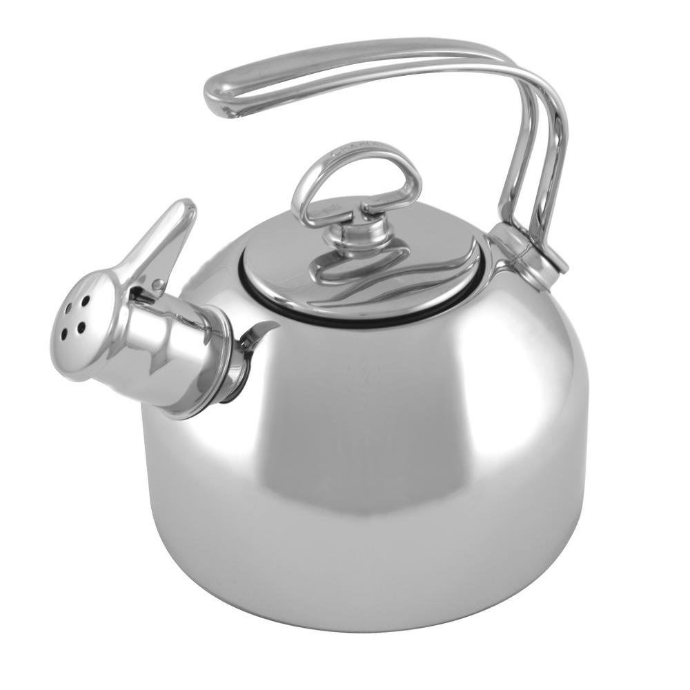 Chantal Classic 7.2-Cups Stainless Steel (Silver) Tea Kettle