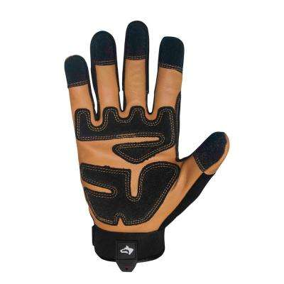 Extra Large Xtreme Duty Mechanic Goat Leather Glove (2-Pack)
