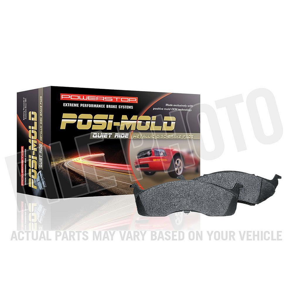 Rear Posi-Mold Carbon Matrix Metallic Disc Brake Pad fits 1991-1998 Saturn SL2 SC2,SW2 SC1,SL,SL1,SW1