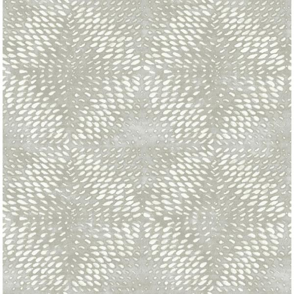 A-Street 56.4 sq. ft. Ethos Grey Abstract Wallpaper 2793-24728