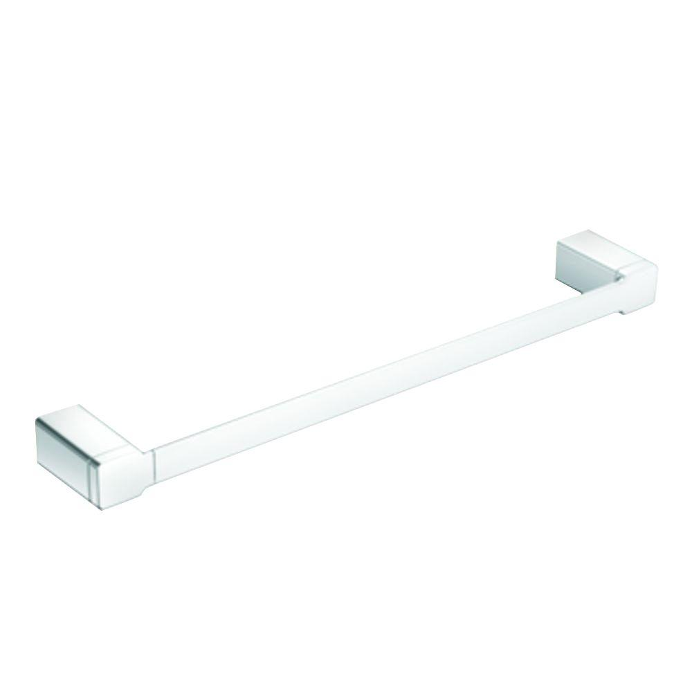 MOEN 90 Degree 24 in. Towel Bar in Chrome-YB8824CH - The Home Depot