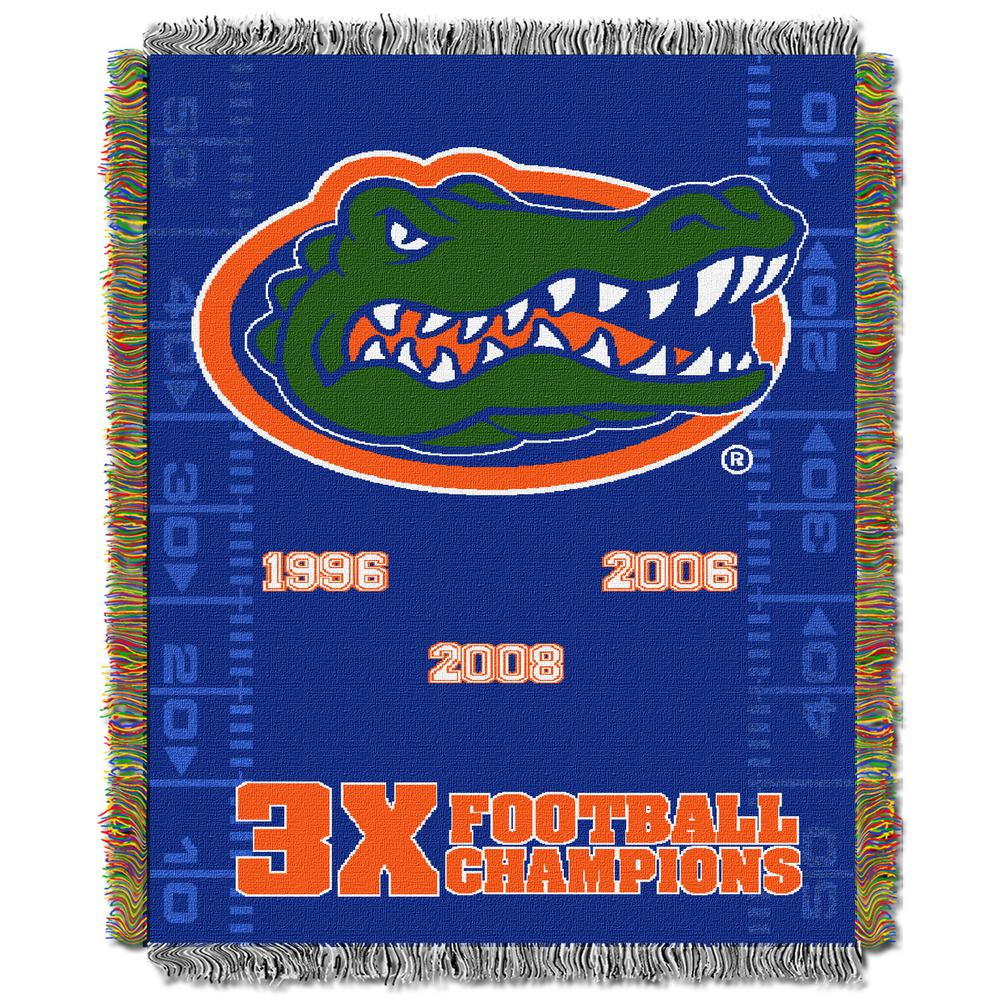 Florida Multi-Color Tapestry Commemorative Series Throw