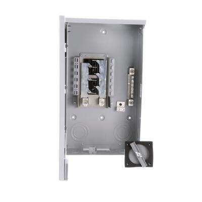 200 Amp 4-Space 8-Circuit Main Lug Outdoor Trailer Panel Load Center