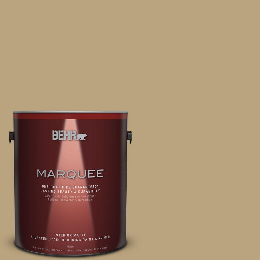 1 gal. #T13-4 Golden Age Matte Interior Paint