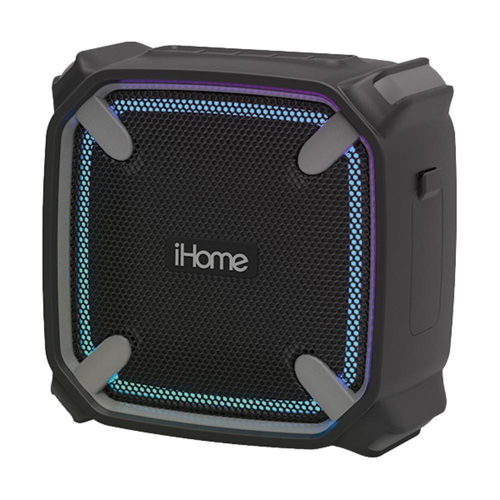 Waterproof Shockproof Bluetooth Speaker with Accent Lighting