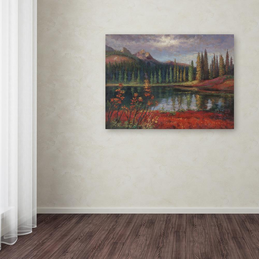 """18 in. x 24 in. """"Almost Winter"""" by Daniel Moises Printed"""