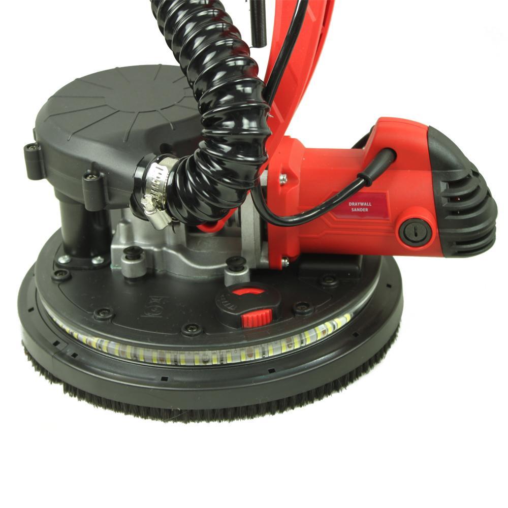 ALEKO Lightweight Drywall Sander with Vacuum and LED Light Adjustable Speed