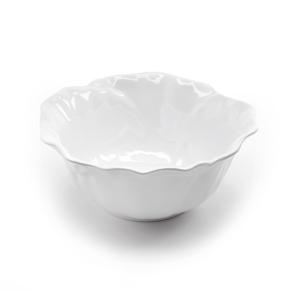 Peony 10 in. Melamine Serving Bowl